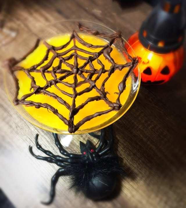 Spooky spider Halloween jelly