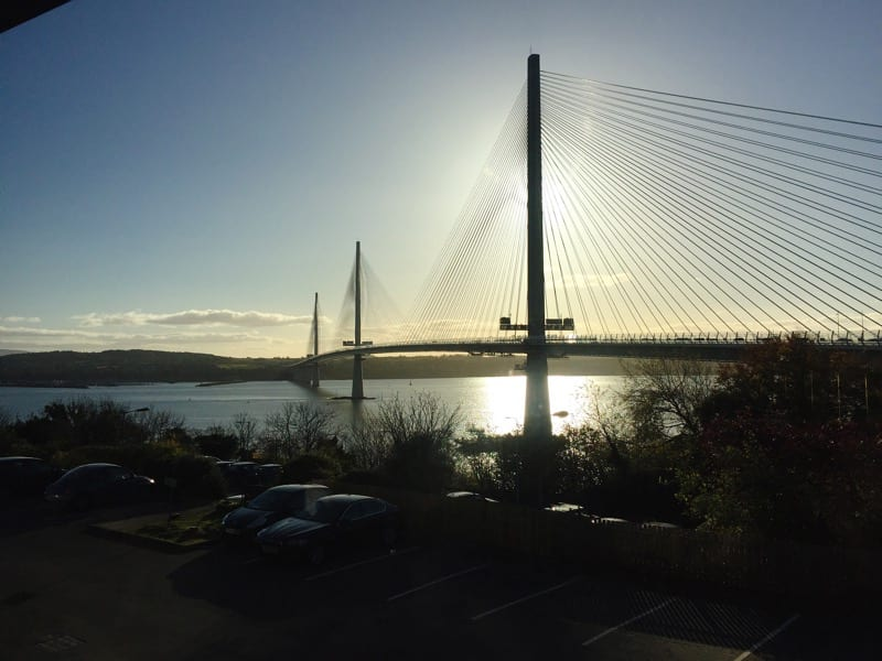 The shore grill and fish house doubletree Hilton North queensferry