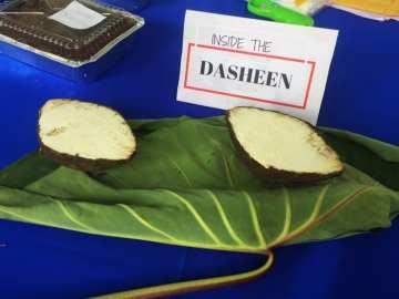 Blue food festival Dasheen Tobago