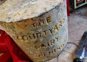 Courtyard Dairy opening - BIG CHEESE!