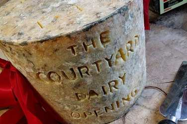 Courtyard Dairy opening - BIG CHEESE!