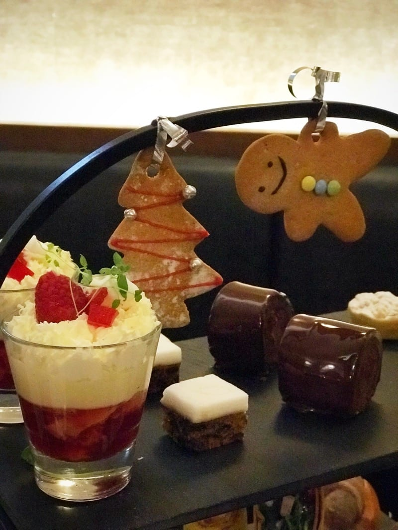 Foodie Explorers glasgow Malmaison festive afternoon tea