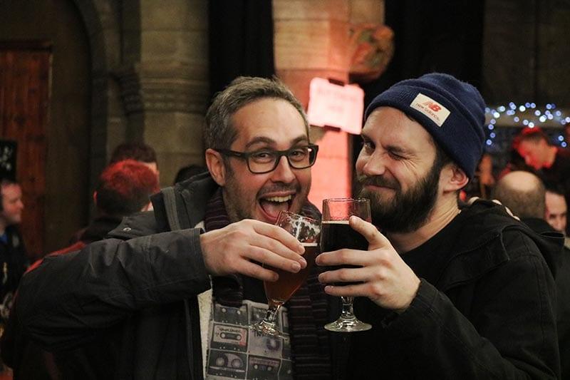 Craft Beer Revolution happy attendees