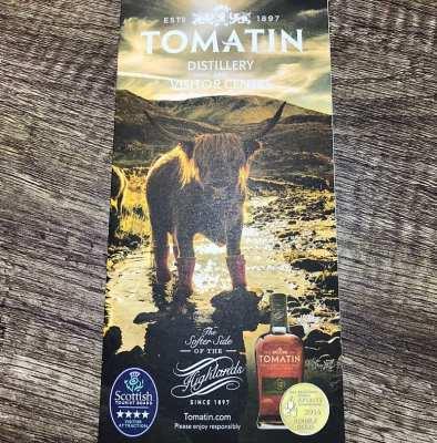 Tomatin distillery Christmas countdown