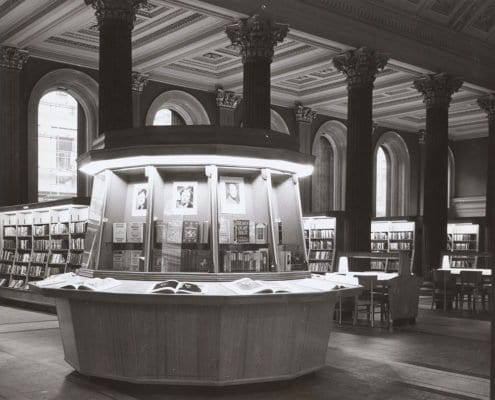 Glasgow GOMA glasgow story Stirling's library