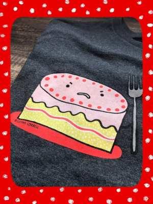 Gemma Correll cake tshirt