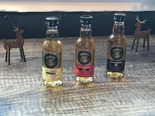 loch lomond whisky gift set