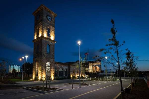 Clydeside Distillery - from outside