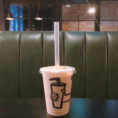 Byron – Irn-Bru milkshake