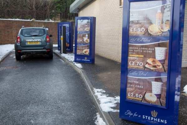 Stephens Drive thru Bakery scotland