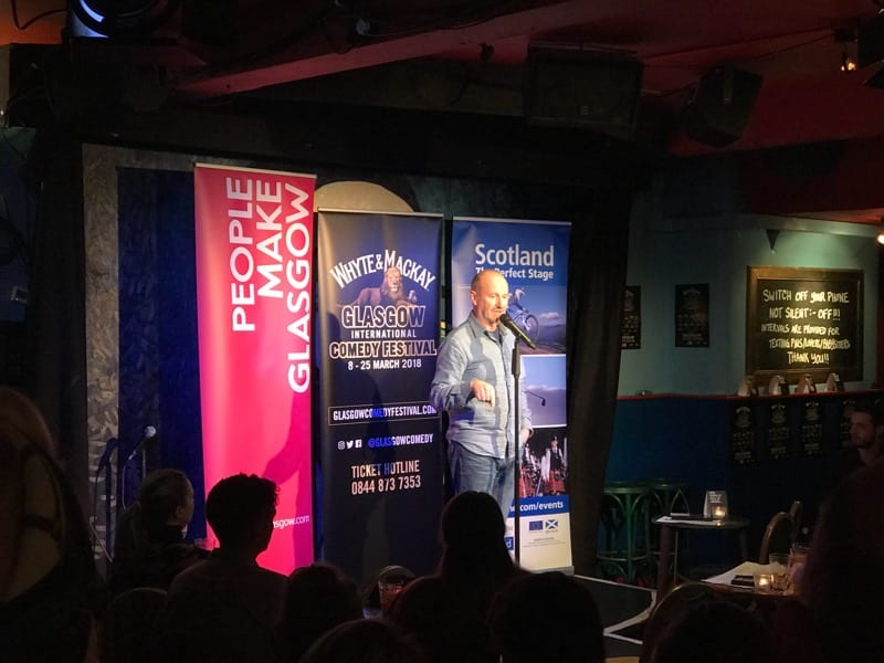Whyte and Mackay Glasgow International Comedy Festival 2018