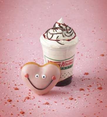 Valentines – Shake and doughnut – With Lockup