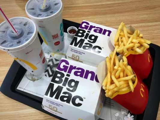 Grand Big Mac McDonalds Glasgow foodie Explorers Glasgow food blog