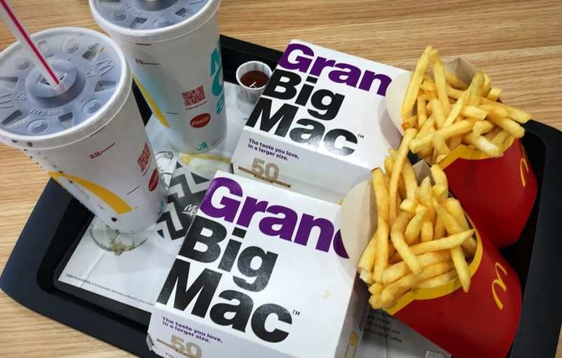 Food Review: Grand Big Mac from McDonald's