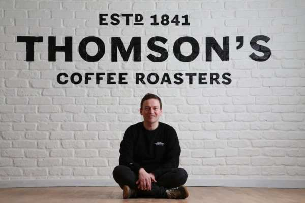 Thomson's coffee roasters Glasgow Argyle street arches