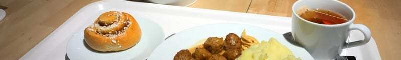 Ikea restaurant braehead glasgow Meatballs