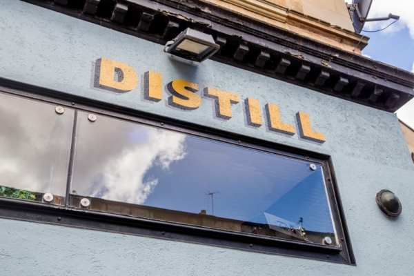 Distill Finnieston bar closing Glasgow foodie explorers