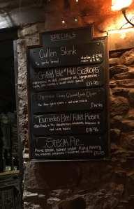 The George hotel Inveraray scotland foodie Explorers