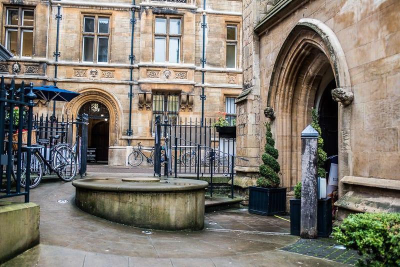 Rubbish chefs Michaelhouse centre Cambridge foodie explorers