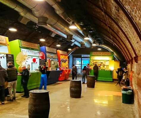 Platform street food market Glasgow the arches foodie explorers