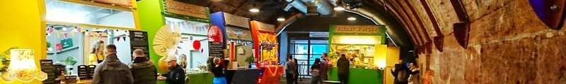 Platform street food market Glasgow the arches foodie explorers