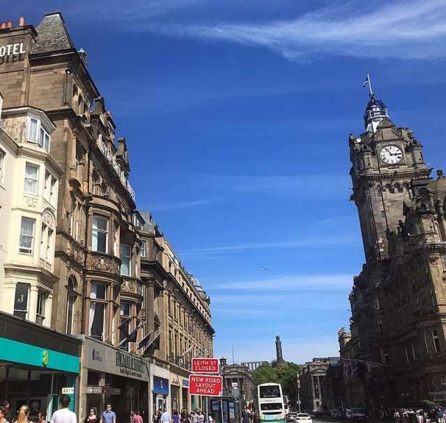 Twenty Princes street Edinburgh restaurant review