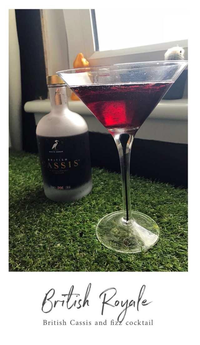 British cassis cocktail summer royal wedding