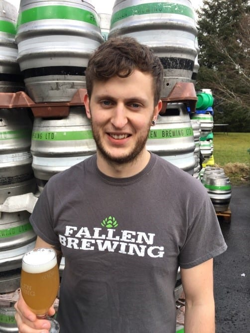 Fallen brewing new assistant brewer rye ipa