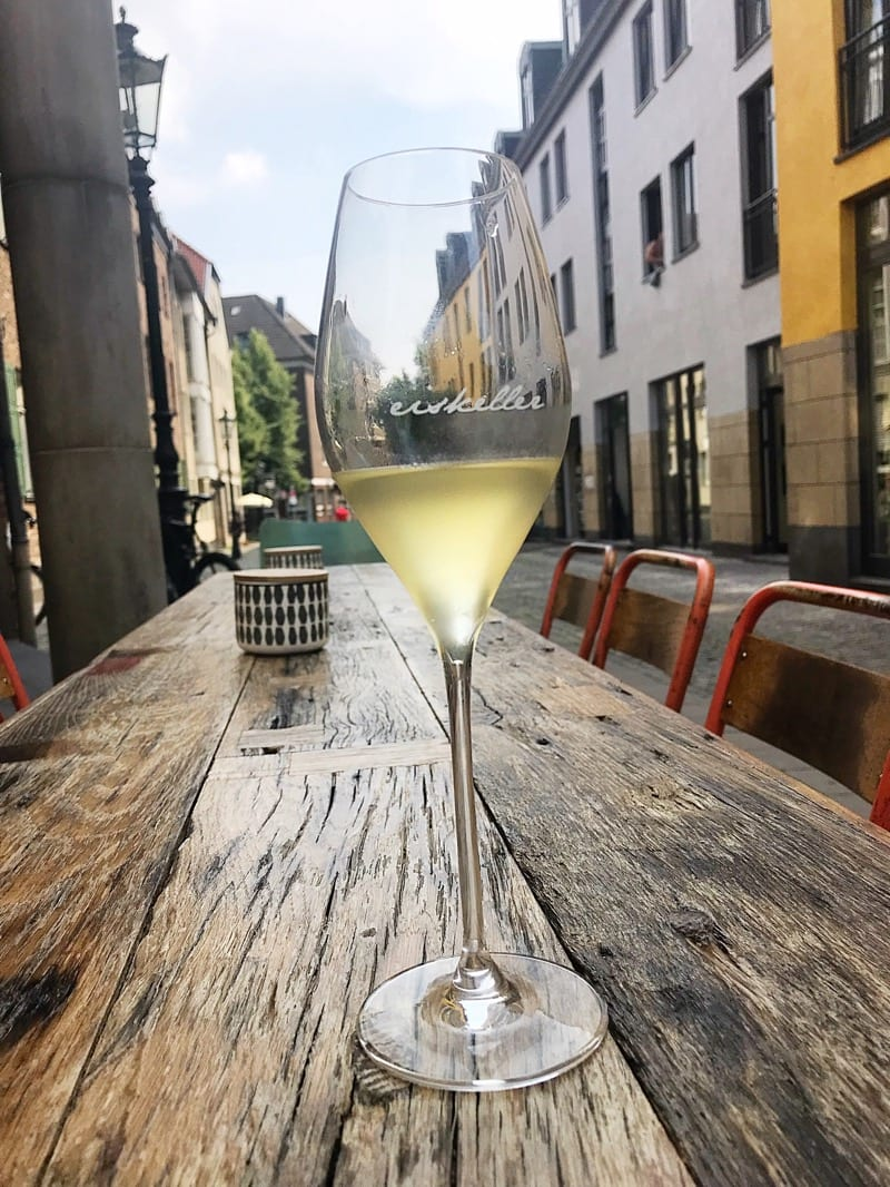 Eiskeller wine bar Düsseldorf
