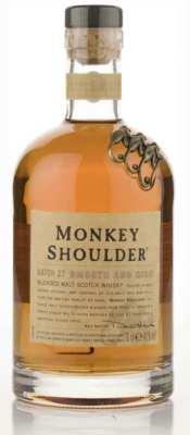 Monkey Shoulder whisky bottle