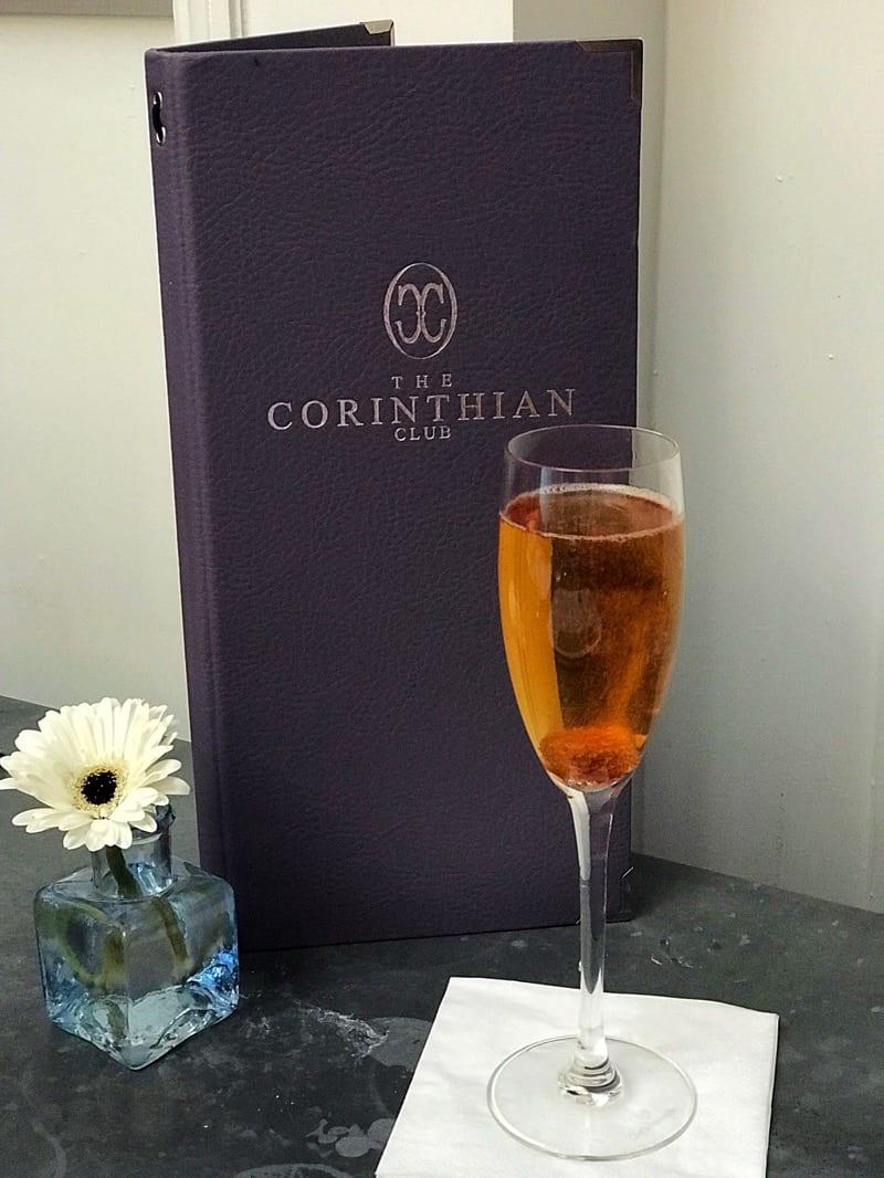 Courvoisier cocktails Corinthian Club Glasgow foodie explorers