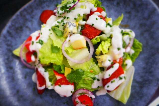 Glasgow Malmaison Summer Menu signature summer salad