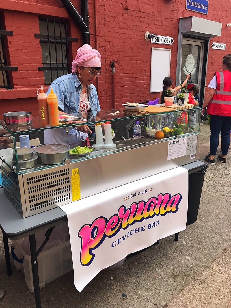 Peruana Peruvian Food Ceviche Bar pop up Glasgow