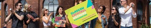Glasgow cocktail weekend August 2018