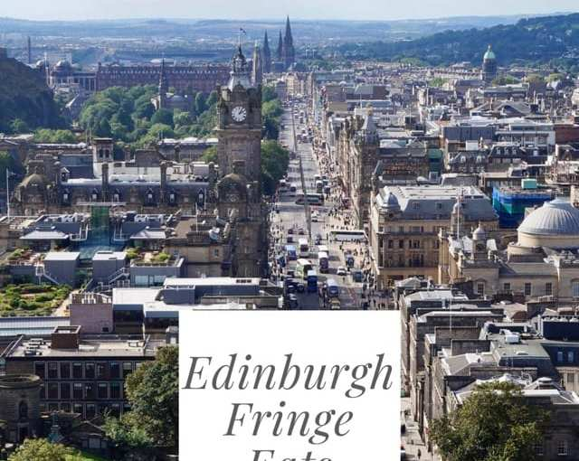 Where to eat during Edinburgh Fringe Festival 2018