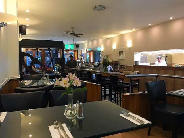 Baby Grand restaurant bar deli elmbank gardens Charing Cross Glasgow