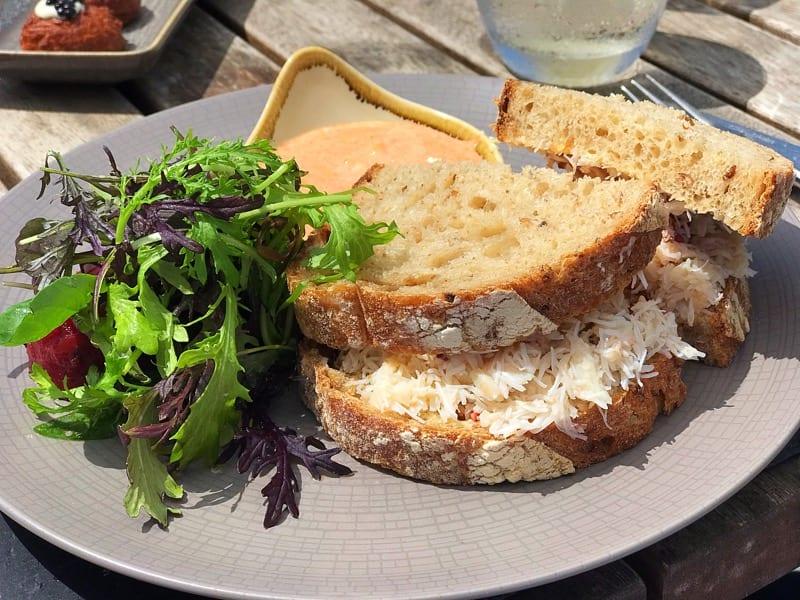Mount Haven hotel marazion Penzance st Michael's Mount lunch