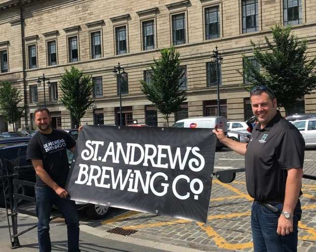 St Andrews Brewing Co -New Bar and Crowdfunding success