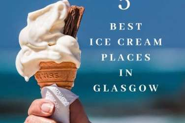 Best places for ice cream in Glasgow
