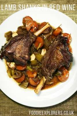 Red wine lamb shank recipe foodie explorers