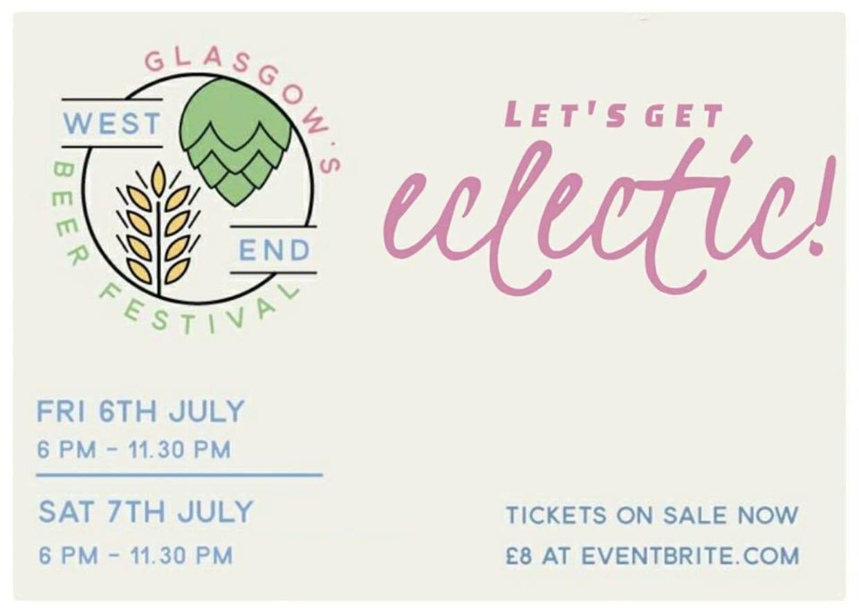 West End Beer Festival Glasgow 2018