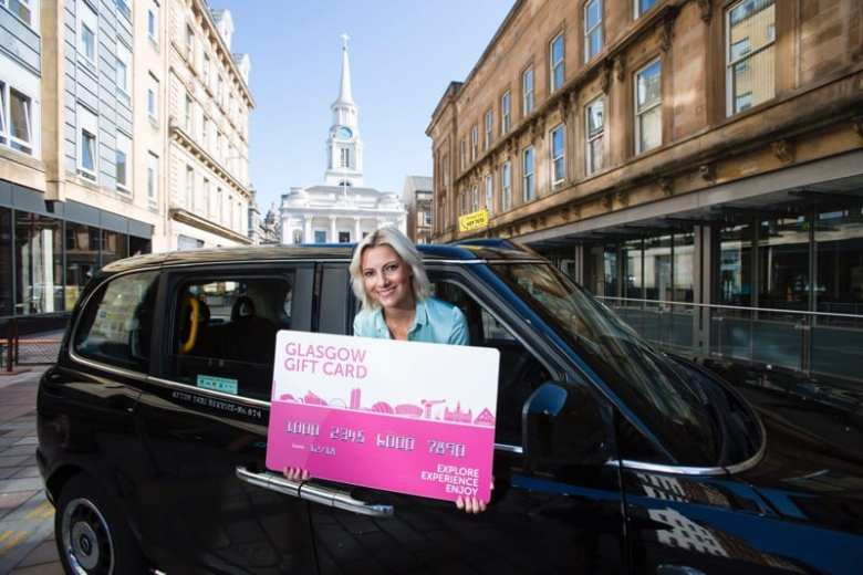 Glasgow Gift Card rusk and rusk Glasgow taxis