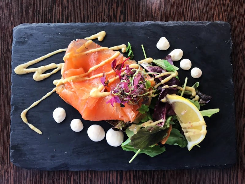 Starter Soar mill cove Devon england foodie Explorers staycation