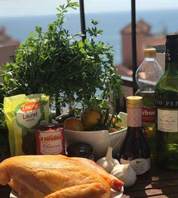 Chicken Marbella recipe Spanish food