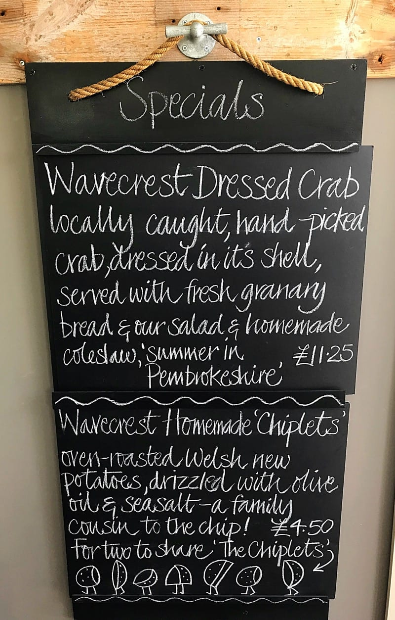 Wavecrest cafe angle beach Pembrokeshire wales foodie explorers