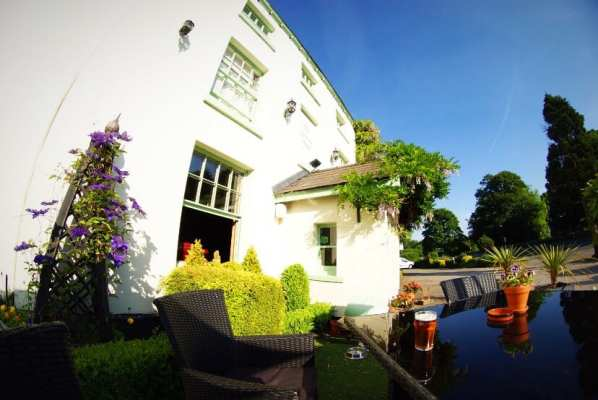 The vicarage Cheshire bar restaurant and boutique hotel