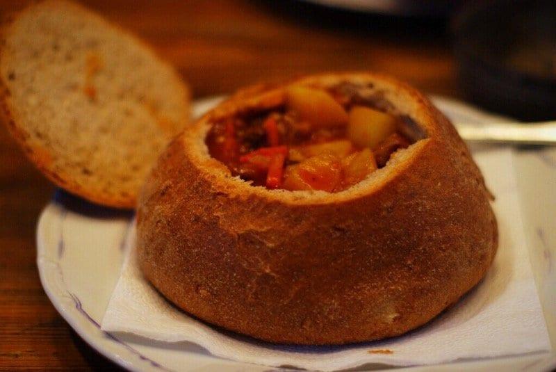 Kutná Hora Czech food soup