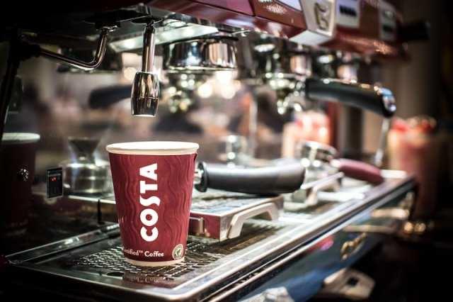 costa coffee machine