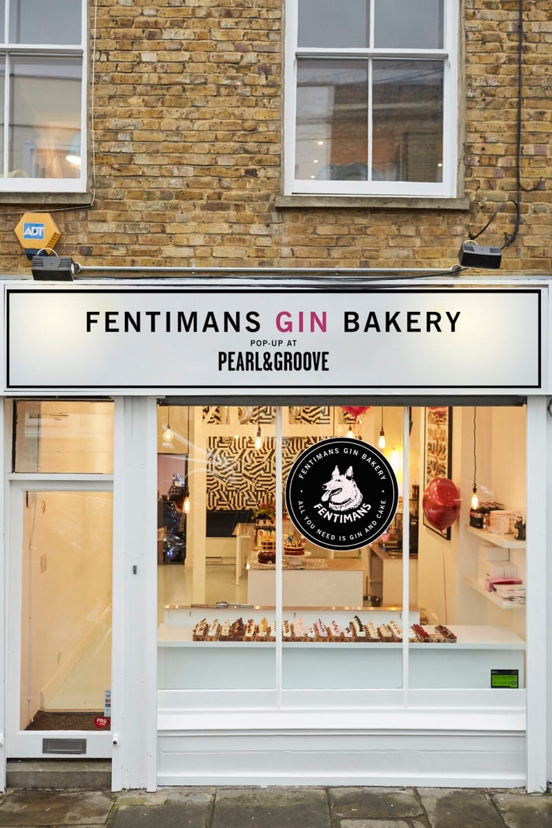 Fentimans Gin Bakery London