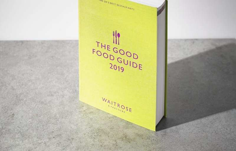 Waitrose and Partners Good Food Guide 2019 released